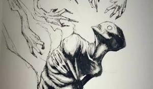 შიზოფრენიით დაავადებული ადამიანების ნახატები, რომლებიც თითოეულ მნახველში შიშს იწვევს