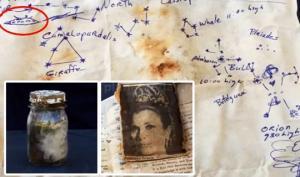 აღმოაჩინეს დროის კაფსულა, რომელშიც გრეის კელის ფოტოსურათი და ნახატი იყო, ამო-ს გადაადგილების მარშრუტით