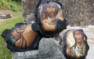შამათი ათეისტებს?-სერბეთში ხანძრის შემდეგ ხატების გარდა ყველაფერი დაიწვა