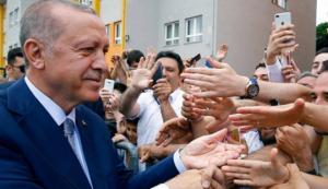 თურქეთის საპრეზიდენტო არჩევნებში ხმების 52 %-ით, რეჯეფ თაიფ ერდოღანმა გაიმარჯვა