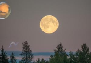 27-28 ივნისის ღამეს ცაზე ორი მთვარე გამოჩნდება