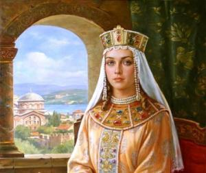 მარიამ ბაგრატიონი - ბიზანტიის დედოფალი და დავით აღმაშენებლის მამიდა