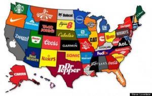 აშშ ყველაზე ძვირად ღირებული ბრენდი ყველა შტატიდან და მათი ისტორიები