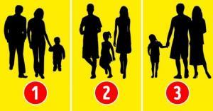 ფსიქოლოგიური ტესტი: გამოიცანით, რომელ ფოტოზე არაა გამოსახული რეალური ოჯახი