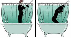 მაღალი და დაბალი გოგონების პრობლემები - სახალისო ილუსტრაციები