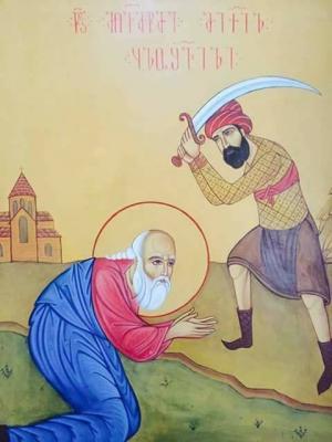 5 ივლისს ჰერეთში აღნიშნავენ სარწმუნოებისათვის თავდადებული წმიდა მღვდელთმოწამე მიქაელ ყულოშვილის ხსენების დღეს!