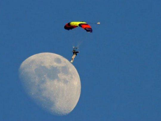 მთვარეზე მოსიარულე