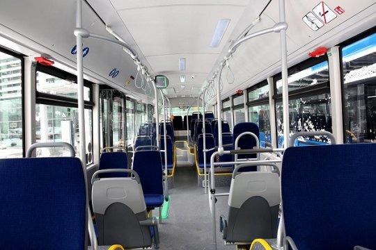 ყველა ახალი ავტობუსი ადაპტირებულია შშმ პირებისთვის. ფოტო: თბილისის მერია