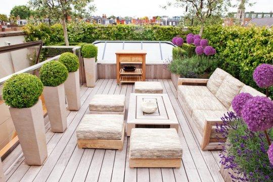 როგორ მოვაწყოთ თანამედროვე სტილის ბაღები და ეზოები 45