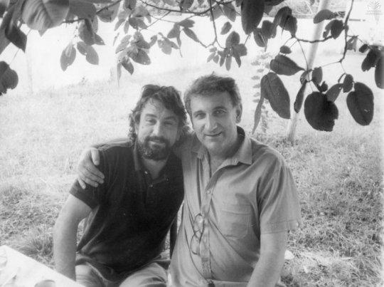 რობერტ დე ნირო და ელდარ შენგელაია