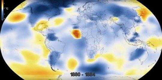 2017 წელი, ბოლო 137 წლის მანძილზე ყველაზე ცხელი წელიწადია - NASA-ს უახლესი მტკიცებულება!