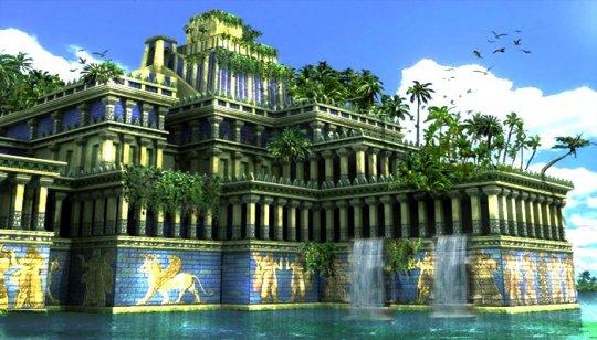 ვის გამო გადაწყვიტა მეფე ნაბუქოდონოსორ II-მ დაკიდული ბაღების აგება?
