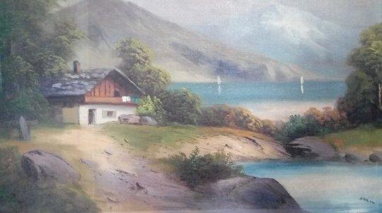ადოლფ ჰიტლერის ნახატები