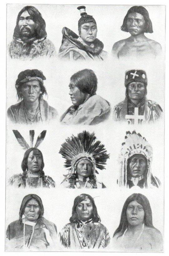 ჩრდილოეთ ამერიკის მონღოლოიდები (ინდიელები)