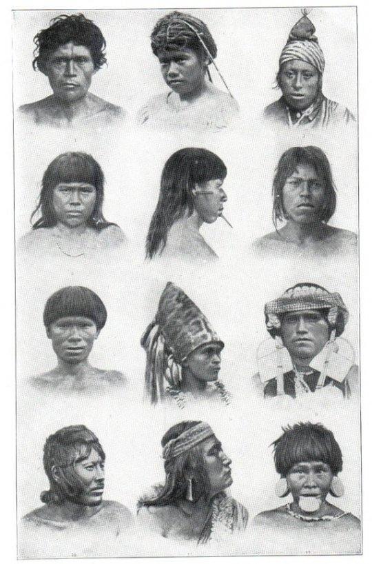 სამხრეთ ამერიკის მონღოლოიდები (აბორიგენი ინდიელები)