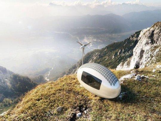 Ecocapsule - სრულიად ავტომატური ეკო-საცხოვრებელი