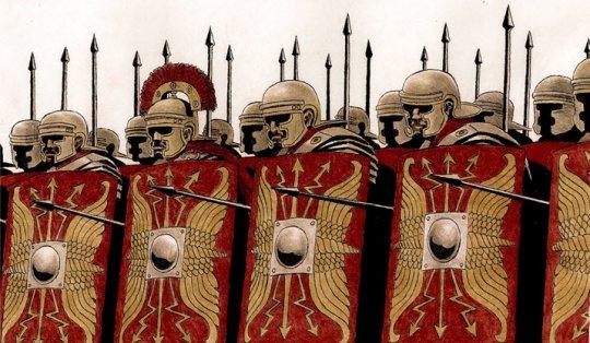 რომაელი ჯარისკაცები