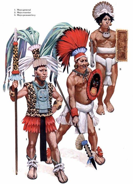 მაიას ხალხის მეომრები