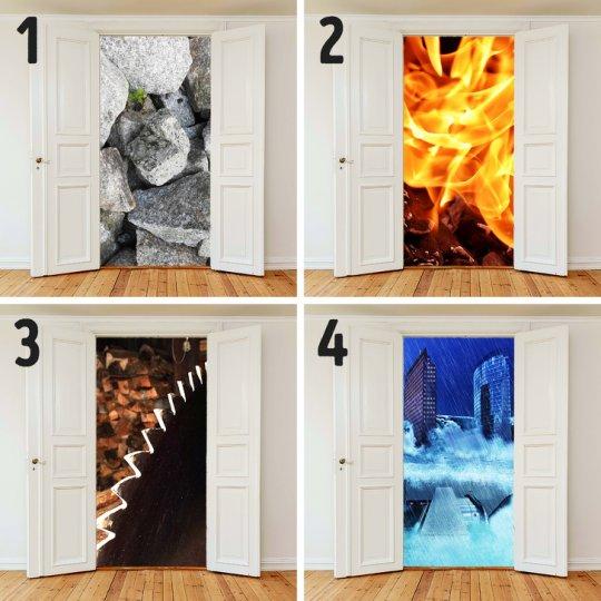რომელ კარს აირჩევთ? -3 საბავშვო ამოცანა,რომელიც დიდებსაც აბნევს