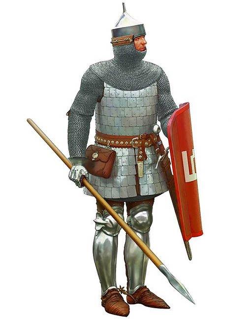 მე-15 საუკუნის ლიეტუველი მეომარი