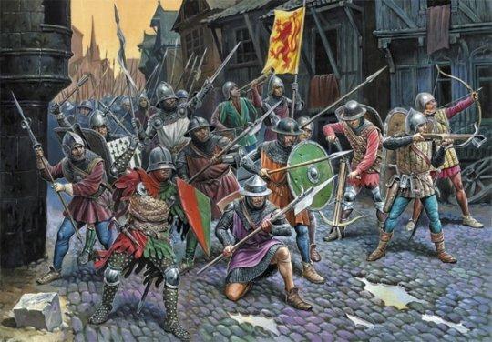 მე-15 საუკუნის მეორე ნახევარში,  მსოფლიოში მომხდარი ომების სია