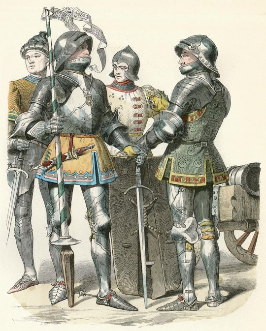 ბურგუნდიელი ჯარისკაცები