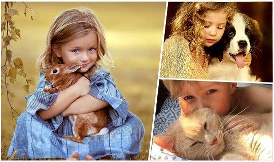 როგორ   შევარჩიოთ შინაური ცხოველი ბავშვისთვის?