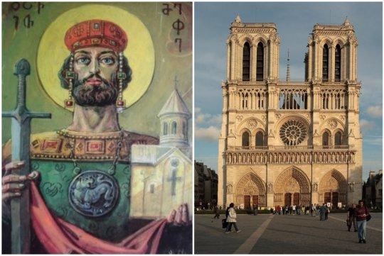 რატომ მიჰყიდა დავით აღმაშენებლის ცოლმა ქართული ჯვარი ევროპელებს - უცნობი ისტორია