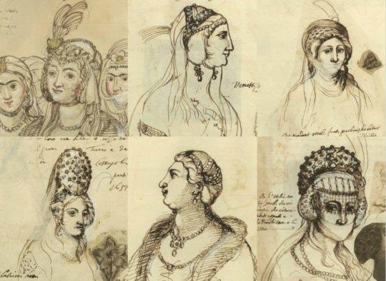 მე-17 საუკუნის ქართველი ქალები