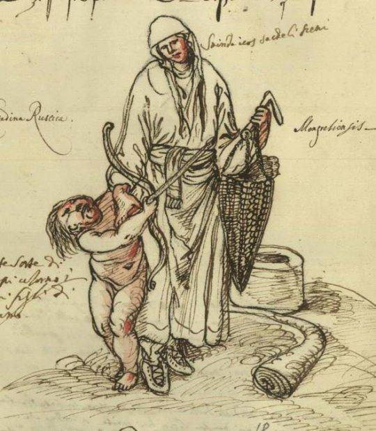 მეგრელი დედა და ბავშვი