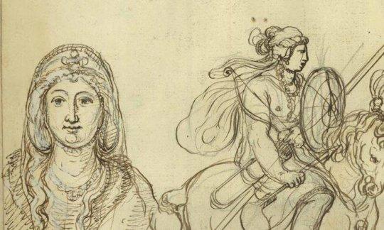 ვარდისფერა - ქართველთა დედოფალი