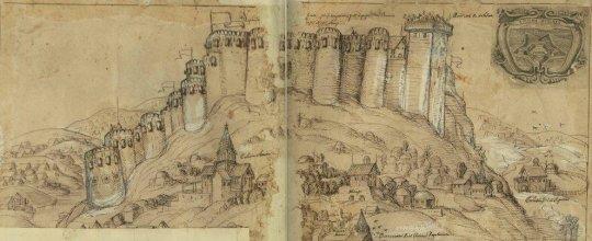 გორის ციხე მე-17 საუკუნეში