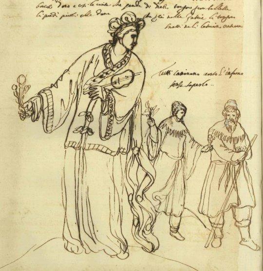 სვანი ქალები მე-17 საუკუნეში