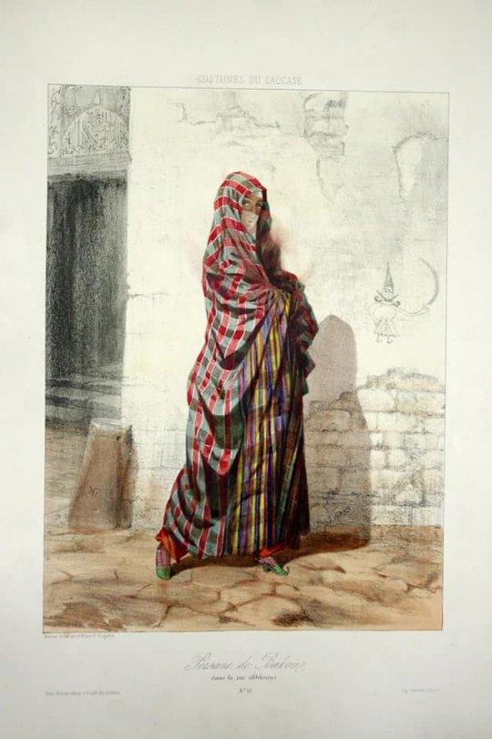 სპარსელი ქალი ბაქოში