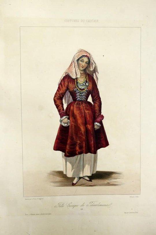 კაზაკი ქალი ჩეჩნეთიდან.