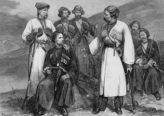 იმერლები. 1873 წ.