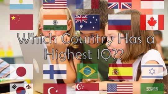 საქართველო IQ-ს მაჩვენებლით მე-13 ადგილზეა;  იხილეთ ქვეყნებისა და ცნობილი ადამიანების IQ
