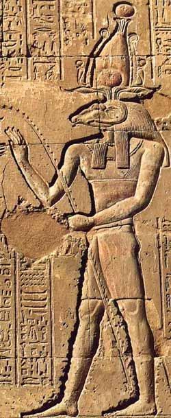 """ეგვიპტური """"მენდესი""""-ს გამოსახულება"""