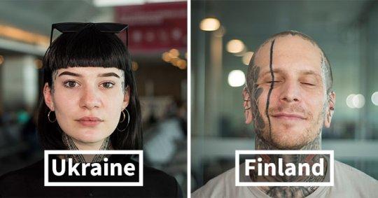 ფოტოგრაფი რომელიც აეროპორტში აღმოჩენილ განსხვავებულ ადამიანებს აფიქსირებს