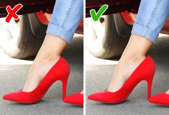 რა ნიუანსები უნდა გაითვალისწინოთ ქუსლიანი  ფეხსაცმლის შეძენისას