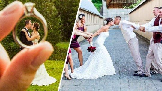 წყვილები, რომლებსაც სურდათ განსაკუთრებული ქორწილი ჰქონოდათ, ნახეთ ეს როგორ გამოუვიდათ - ფოტოები განწყობისათვის