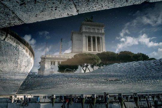 უძველესი რომის მშვენიერება, წვიმაში გადაღებული ფოტოები