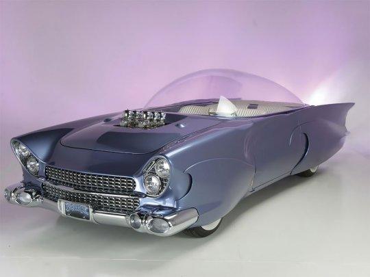 გასაოცარი Ford Beatnik Bubbletop 1955 წლის