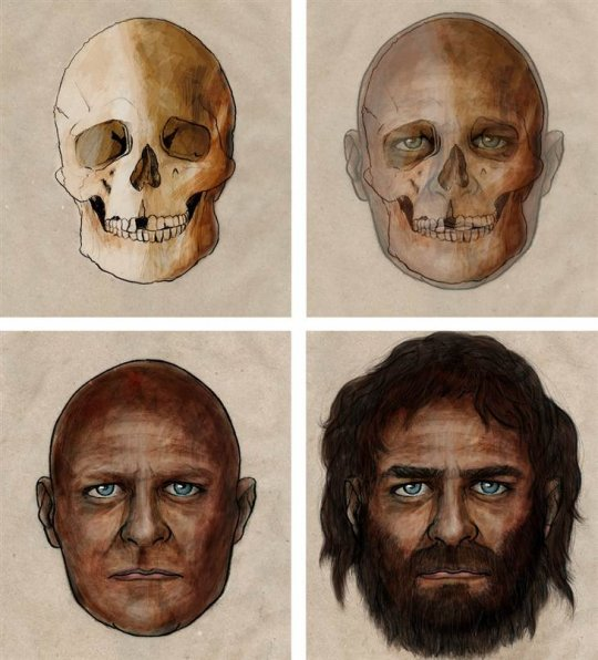 უძველესი ევროპელები მუქკანიანები იყვნენ