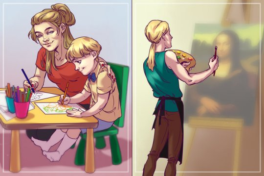 თამაში ბავშვთან