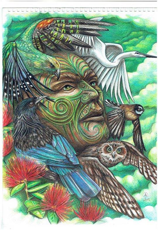 ტანე მაჰუტა - ტყეების და ფრინველების ახალი ზელანდიური ღმერთი