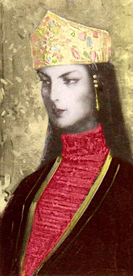 დედოფალი ბურდუხანი. თამარ მეფის დედა