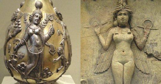 ქართული მითოლოგია - აინინა და დანინა
