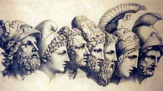 ბერძნული ღმერთების ოჯახი