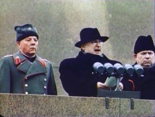 სტალინის მმართველობის უკანასკნელი წელი-1953 წლის საბჭოთა კავშირის ფერადი ფოტოები